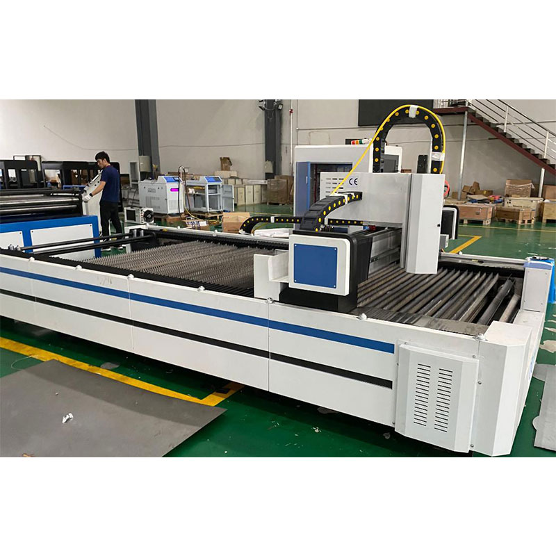 Fiber Laser Cutting Machine with Scroll Working Table